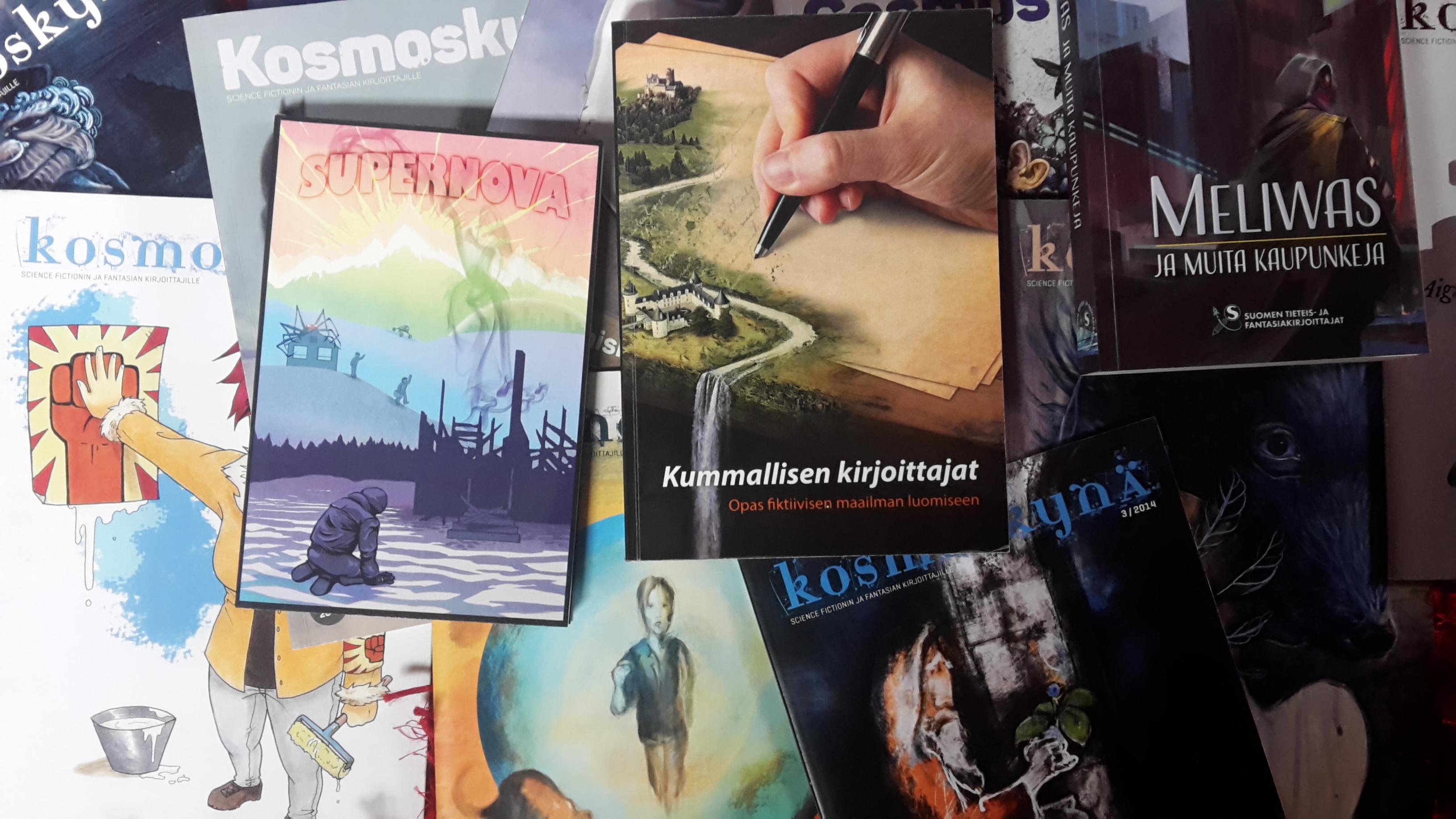 Stk:n kirjoittajaohjelmaa Finncon-perjantaina